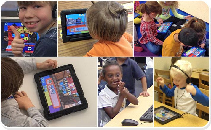 The foos: Learning to code has never been so fun! Kids ages 5 and up can learn key…