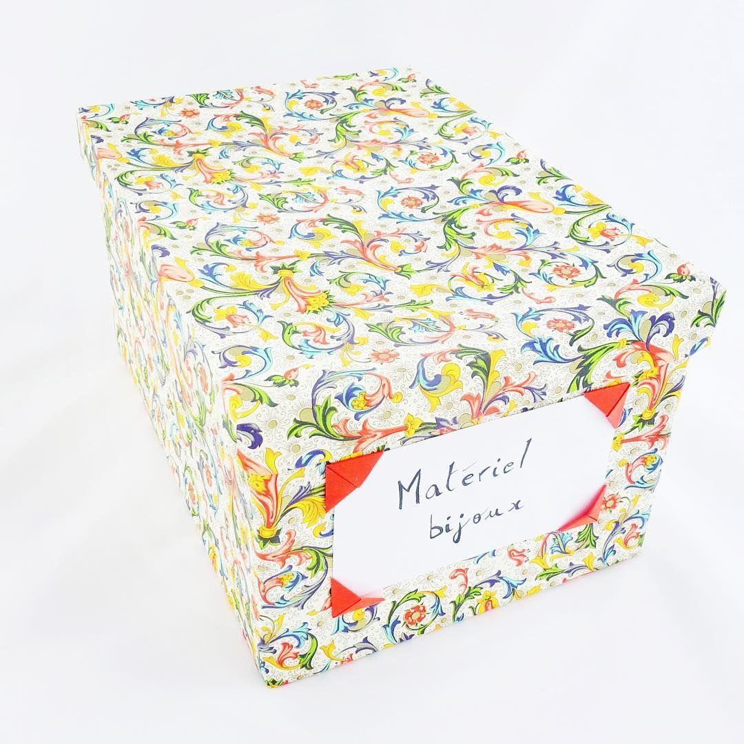Cartons De Colis Amazon Papier Florentin Super Boite De Rangement De Materiel A Bijoux Cardboard From Amazon Packages F Boite De Rangement Boite Carton