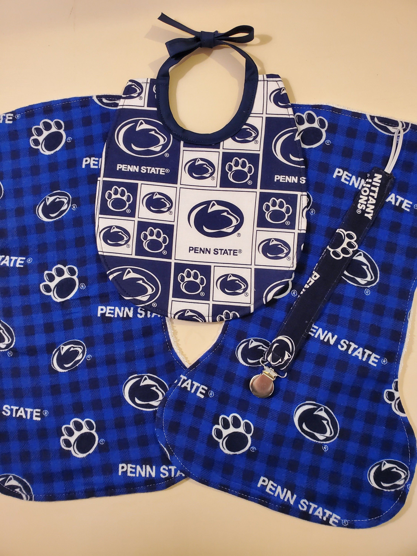 PENN STATE NITTANY LION BOY GIRL BURP CLOTH GIFT