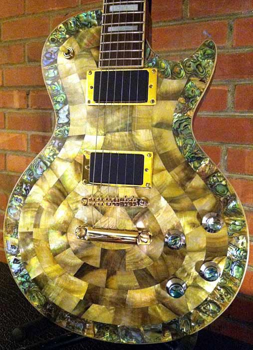 yormajesty 39 s my mother of pearl zemaitis guitar gold pickup rings abalone knobs replaced gold. Black Bedroom Furniture Sets. Home Design Ideas