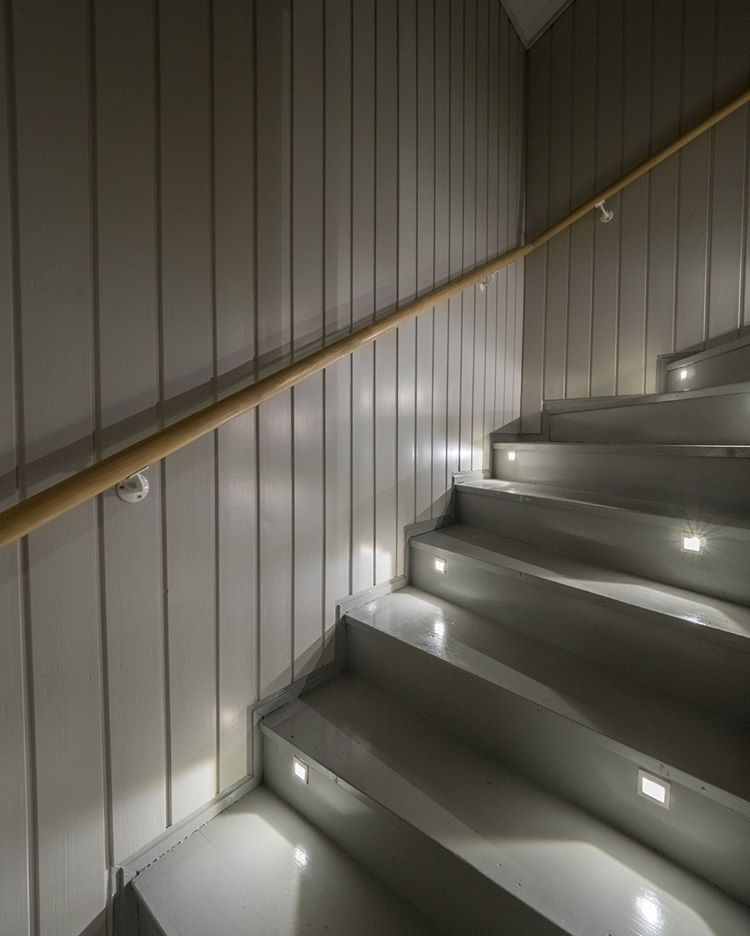 Home Interiorlighting Design: Safety First! Remember Lighting In Stairs #led # Home