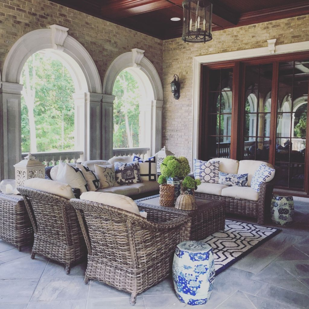 Garden Seating Ideas For Your Outdoor Living Room: The Enchanted Home - Rediscover Your Home