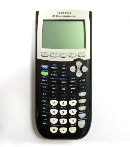 BESTSELLER! Texas Instruments TI-84 Plus Graphing Calculator (Packaging may vary) $105.96