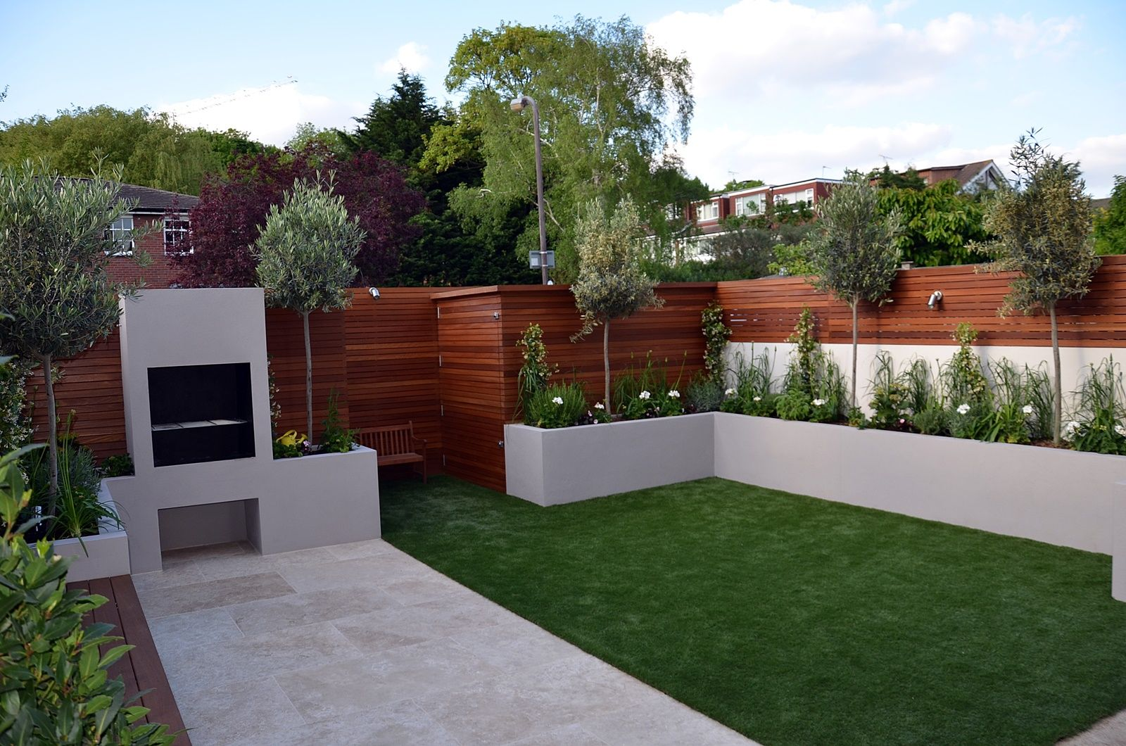 Jardines de diseo moderno fotos de jardines casas for Paisajismo jardines modernos