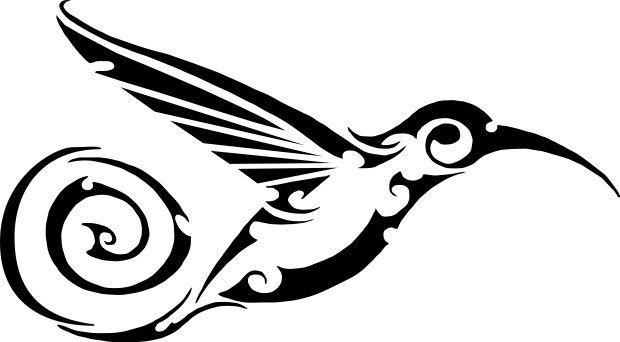 Tribal Hummingbird Tattoo Design Hummingbird Tattoo Tattoos Tribal Tattoos