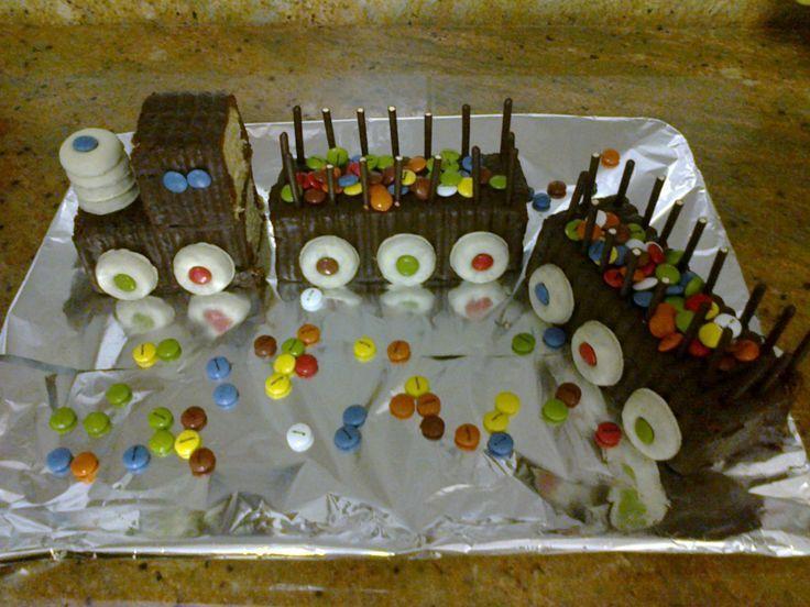 Torta tren tortas cumple Pinterest Tren Tartas y Tortilla