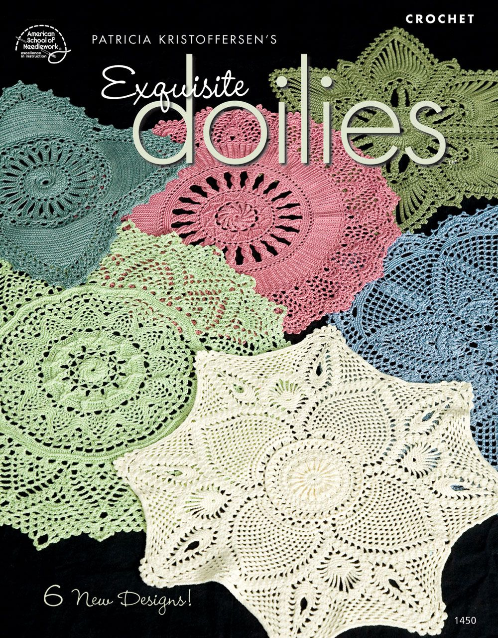 Exquisite Doilies pattern book from ASN 100\'S OF PATTERNS MOSTLY ...