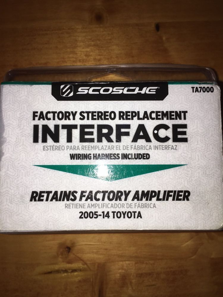 New Scosche TA7000 Factory Stereo Replacement Interface 2005-14
