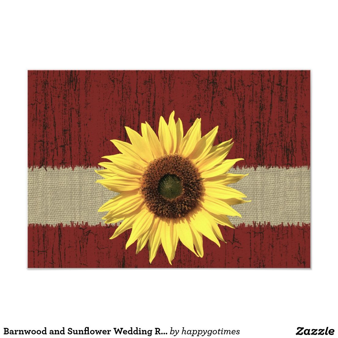 Barnwood and Sunflower Wedding RSVP | Wedding rsvp, Rsvp and Sunflowers