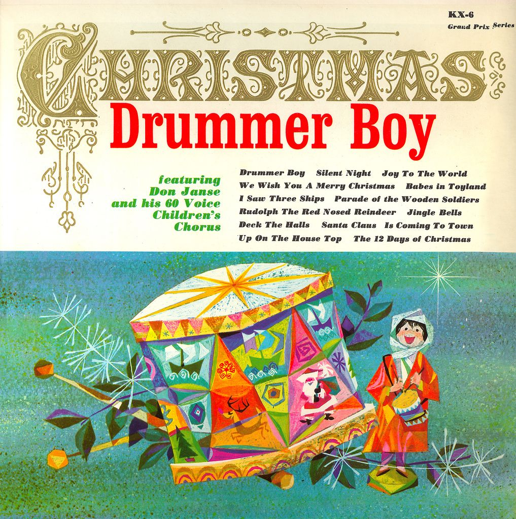 26 Best The Sounds Of Chrismas Images On Pinterest: Christmas Drummer Boy Album Cover,
