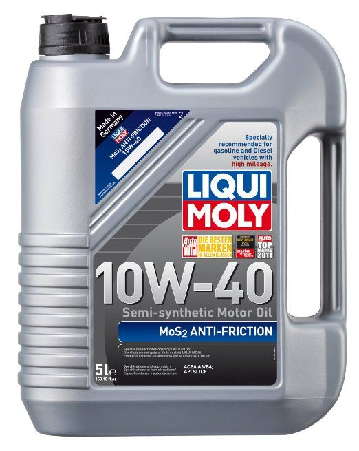 liqui moly 2043 mos2 anti friction 10w 40. Black Bedroom Furniture Sets. Home Design Ideas