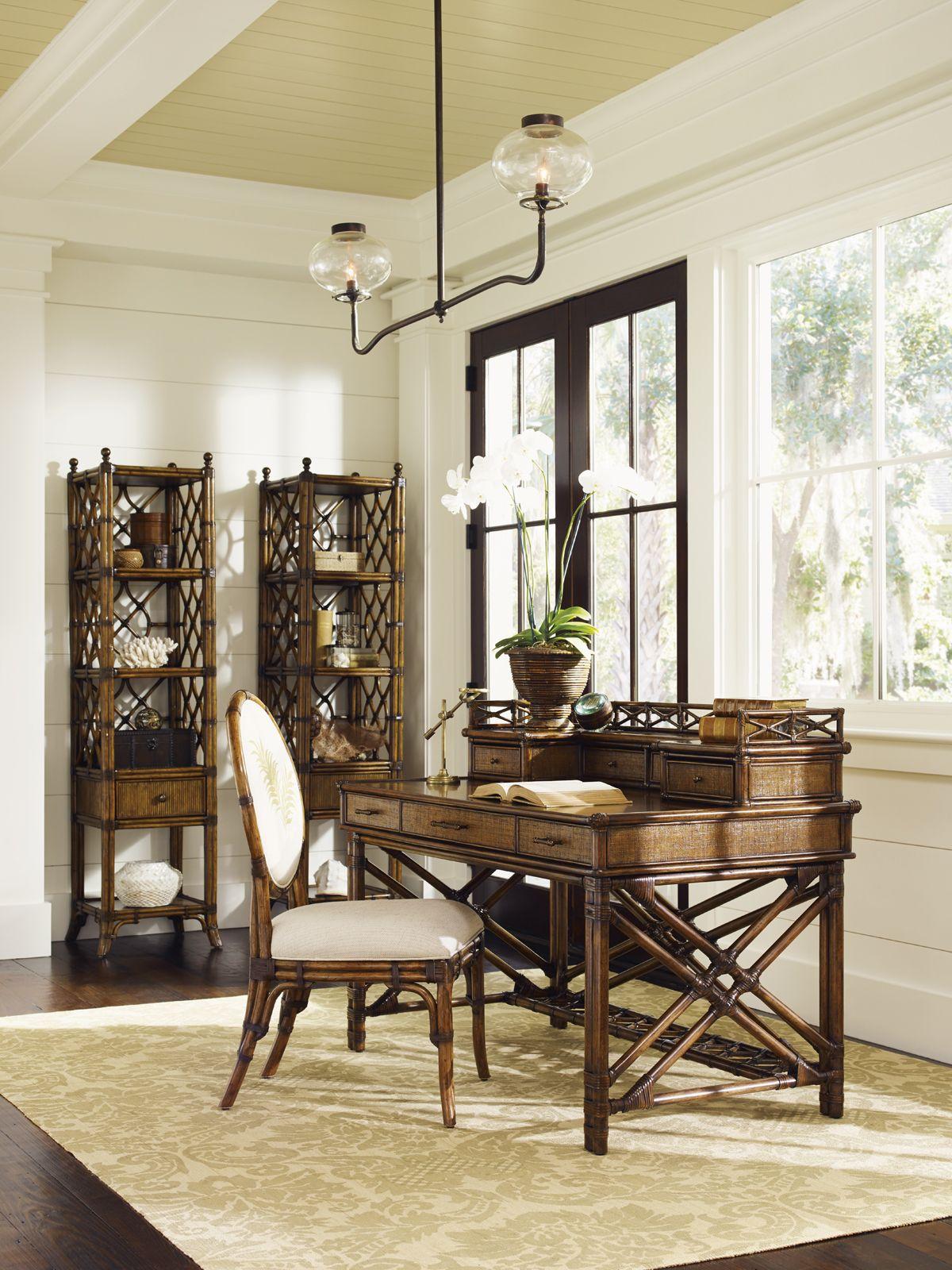 tommy bahama desk bali lexington hai atlantis etagere brands enchanted isle furniture box secretary office accent desks drawers vero sunshine