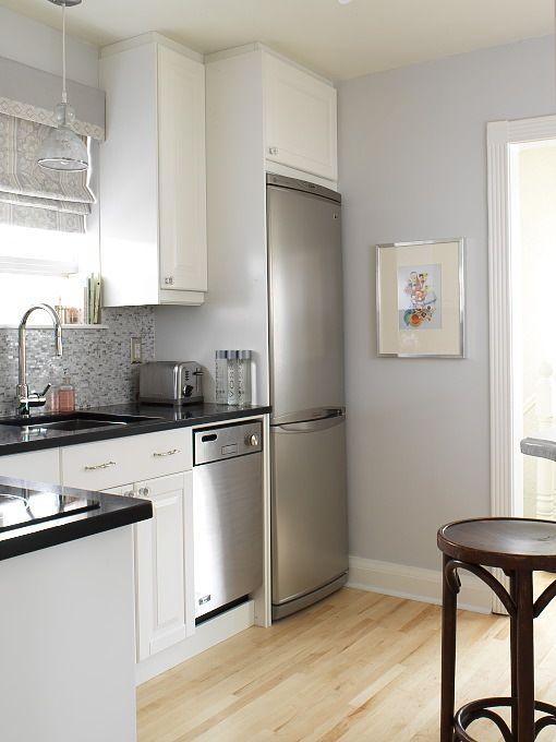 heladera empotrada | Home | Pinterest | Black granite countertops ...