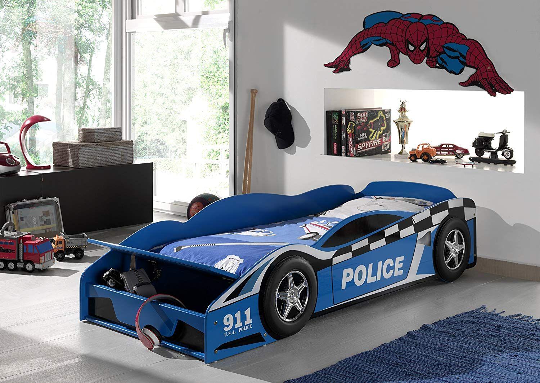 Polizeiauto Bett Mit Stauraum Dieses Kinderbett Ist Ein Echter