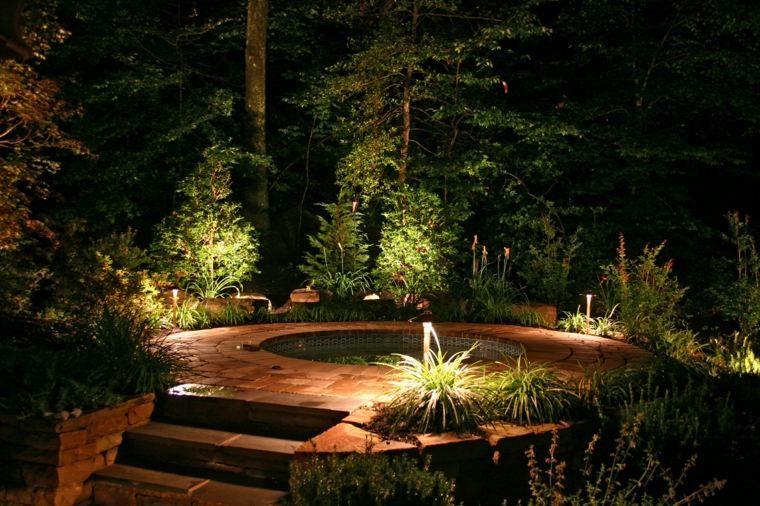 Lumiere Exterieur Pour Jardin Terrasse Et Balcon Un Jeu D Ombres Decorations Pour La Maison Eclairage Exterieur Luminaires Jardin Eclairage Exterieur Moderne