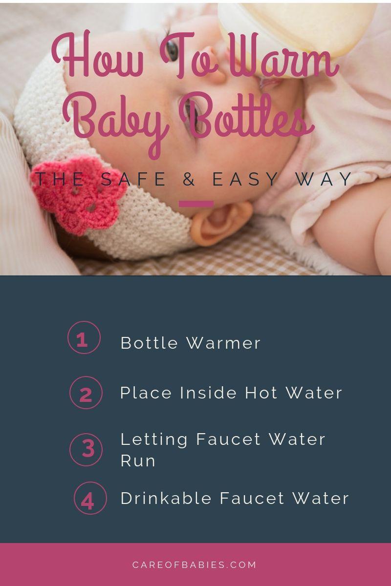 4 ways to warm baby bottle Baby warmer, Baby bottles, Baby