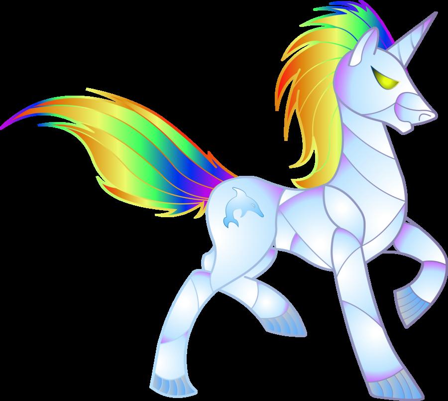 Mlp Robot Unicorn Attack By Rattlesiredeviantartcom On