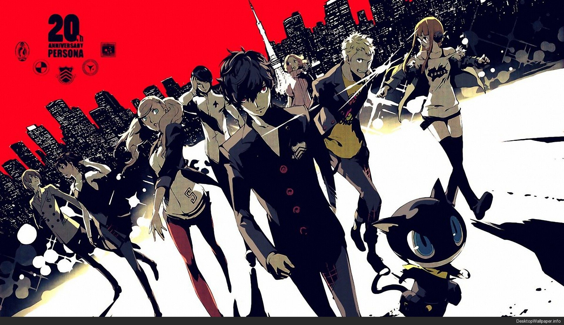 persona 5 desktop wallpaper http//desktopwallpaper.info