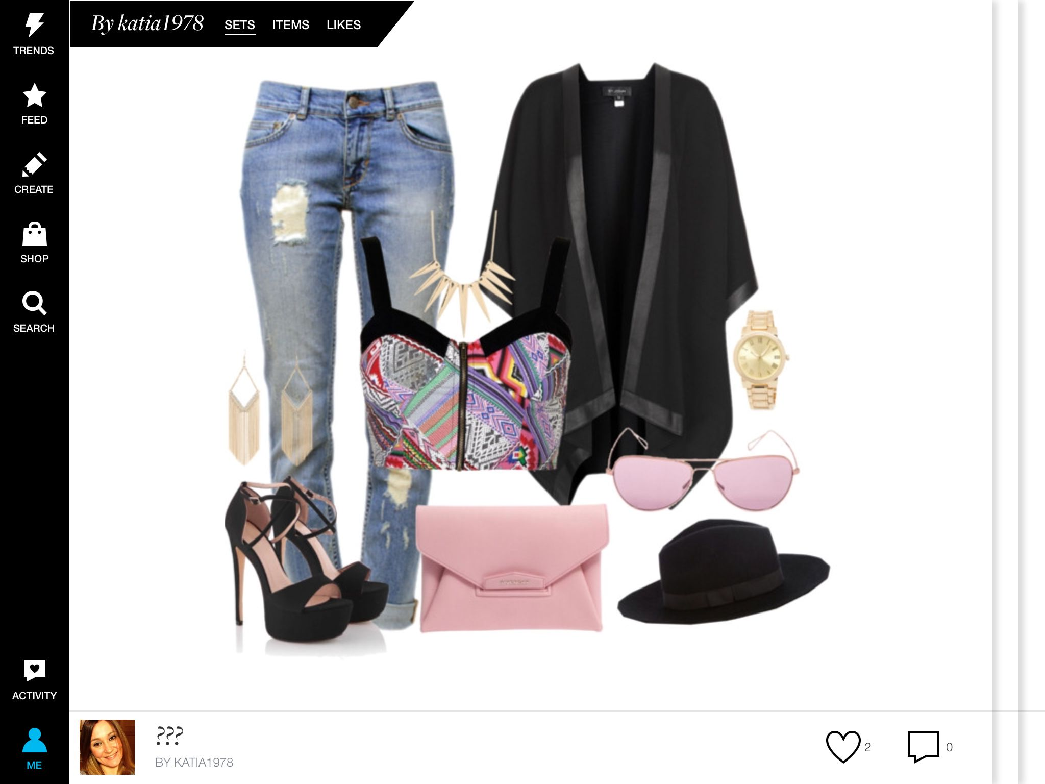 Tacchi e jeans