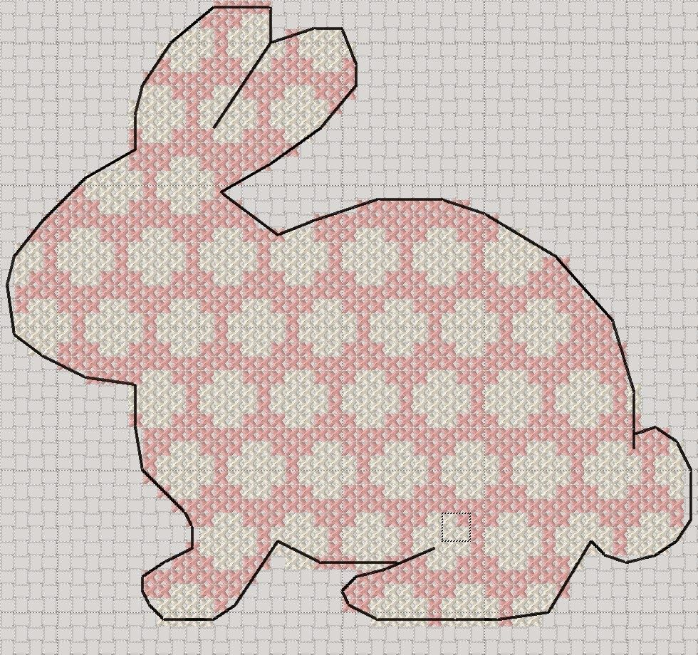 Craft with Ruth Cartwright: Free Spotty rabbit Easter cross stitch pattern PDF