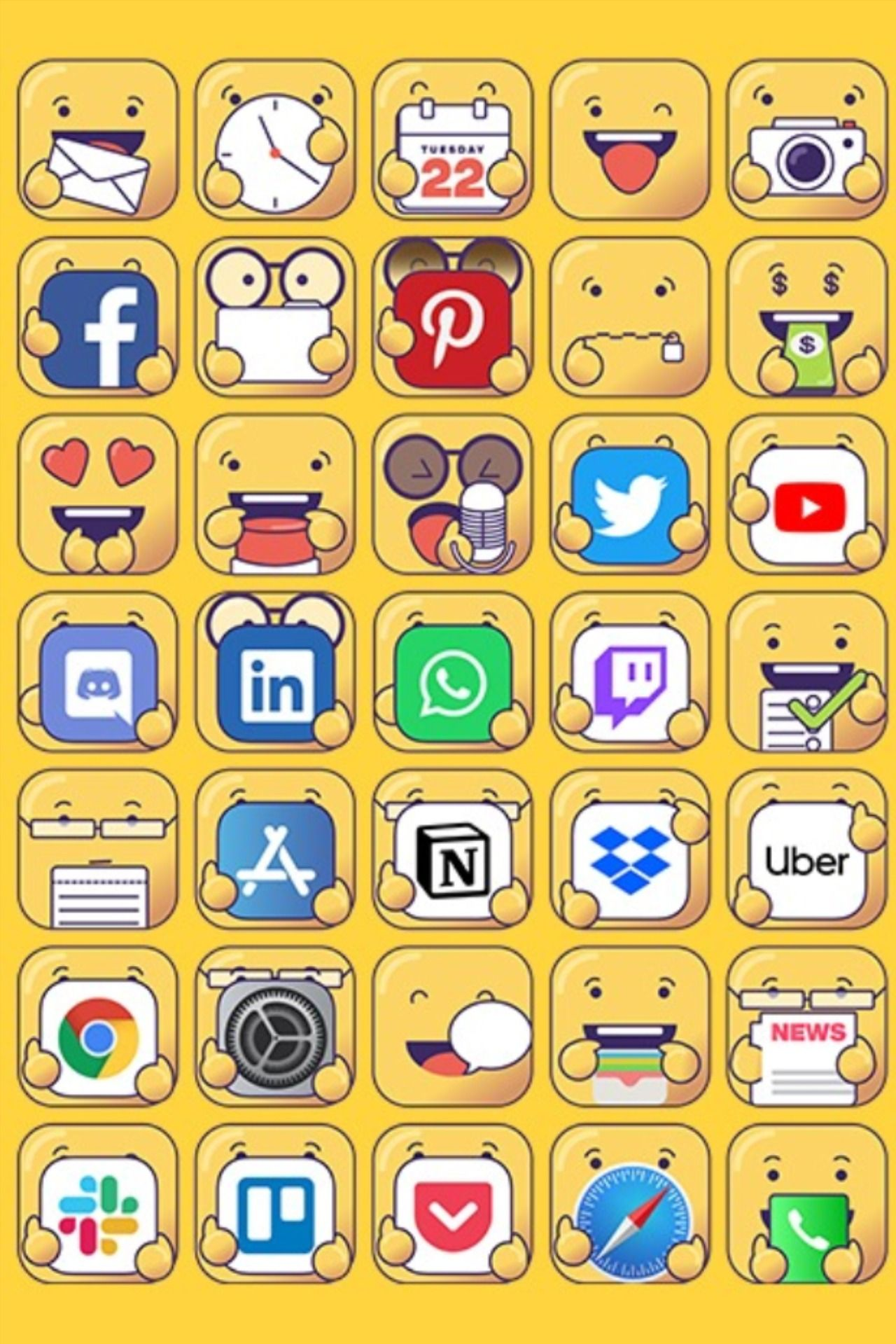 Pin On Appy Icons