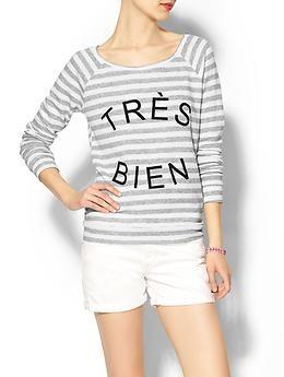 Pim + Larkin Très Bien Sweatshirt   Piperlime