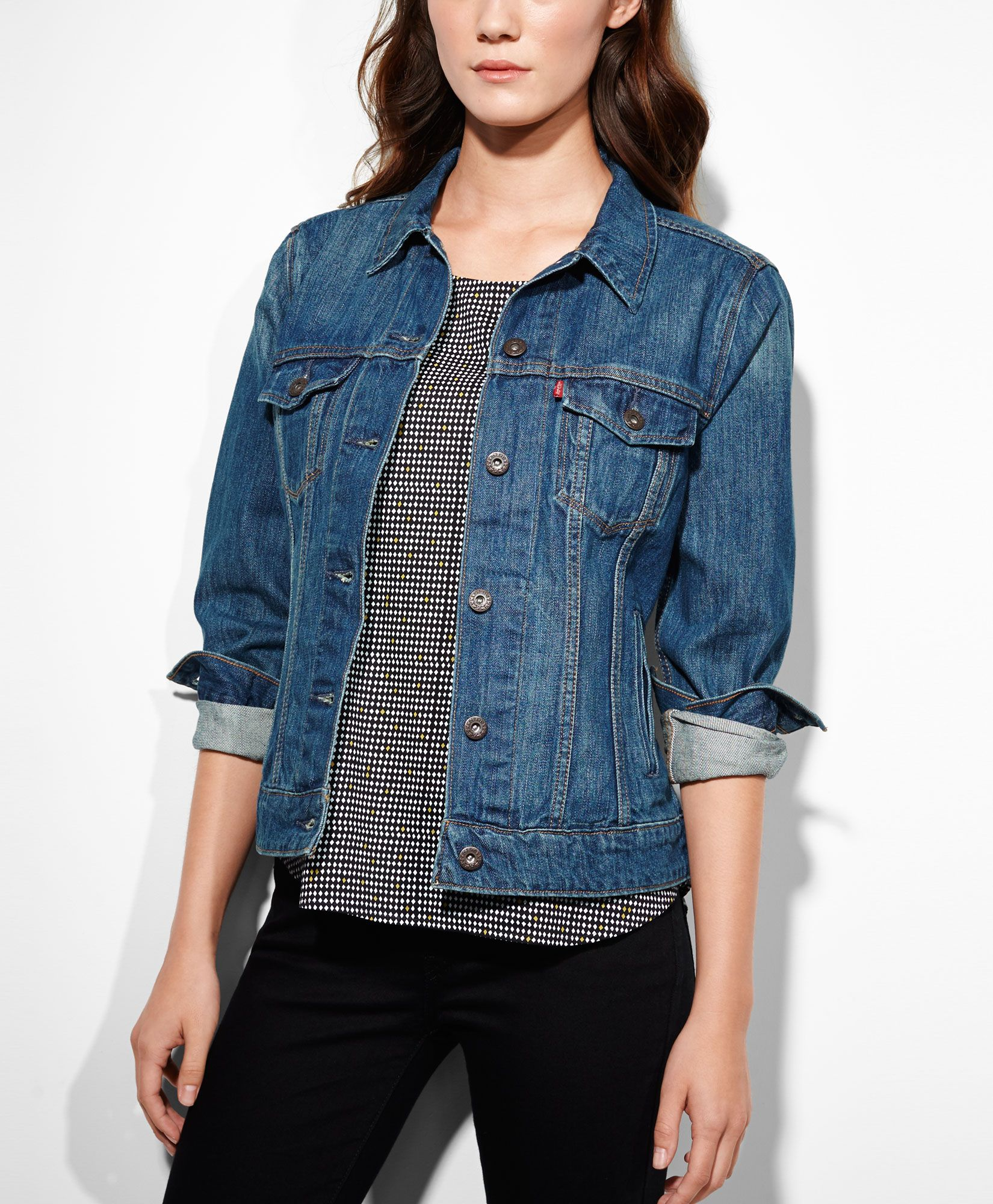 Levi's Trucker Jacket - Vintage Blue - Jackets & Vests | Wish List ...