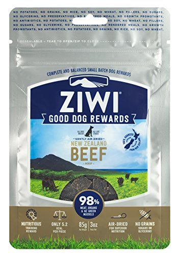 Ziwi Peak Training Rewards Beef Dog 3 Oz Dogfood Rawdogfood
