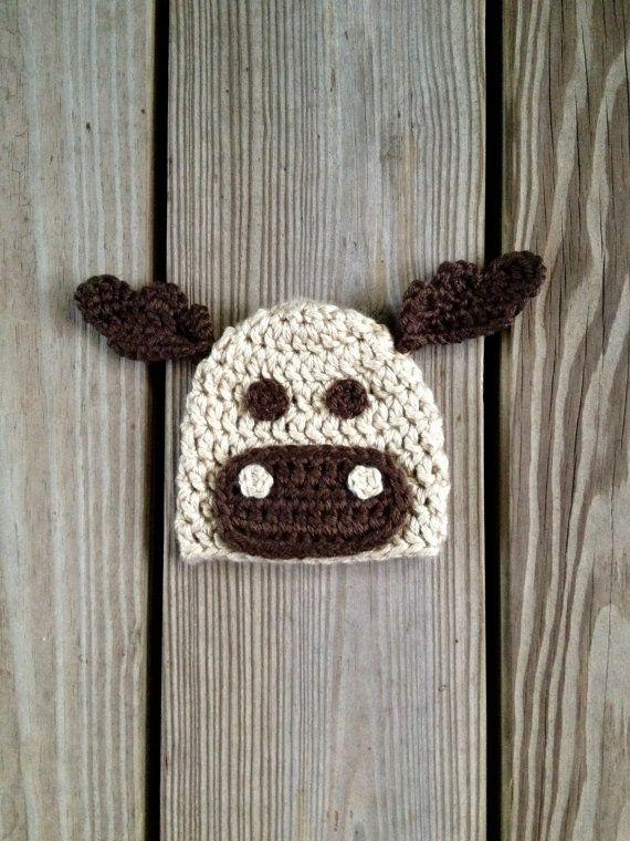 Instant Download Moose Hat Crochet Pattern Pdf Newborn To 4