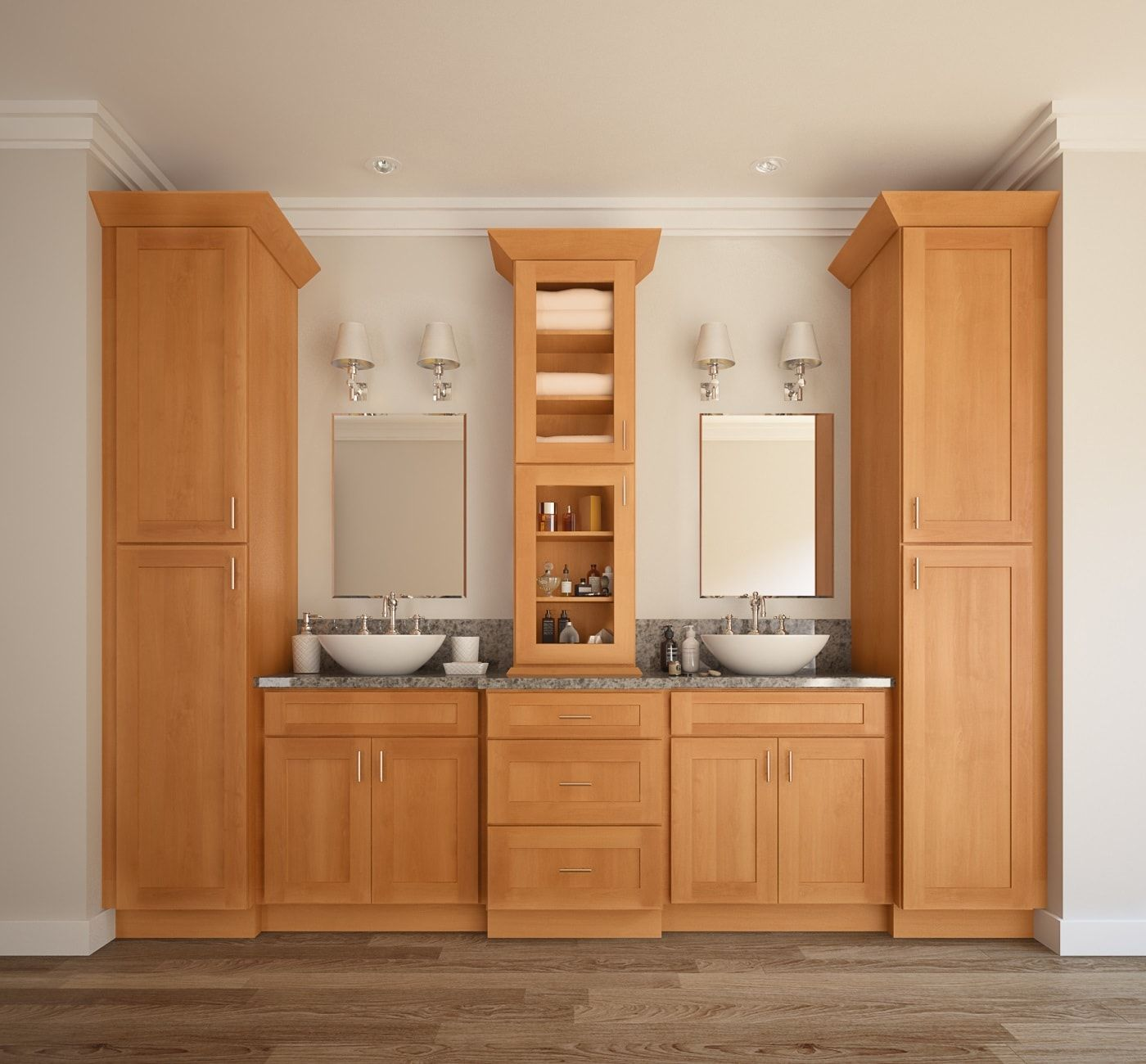 single integrated bathroom vanities shop selections vanity style euro sink lowes charming espresso