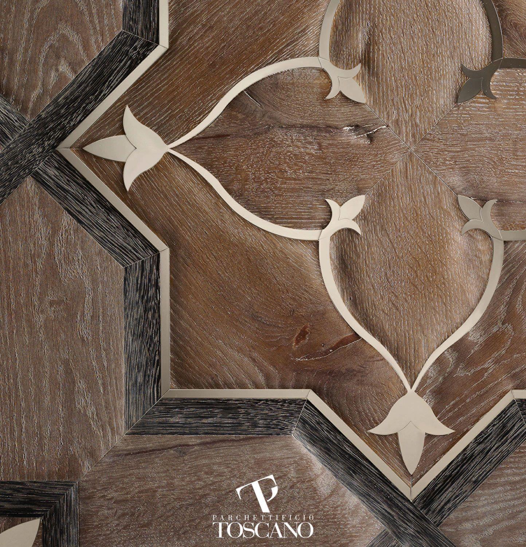 Oak Parquet Floor Tile Wenge Steel Solid Arnolfo Av1
