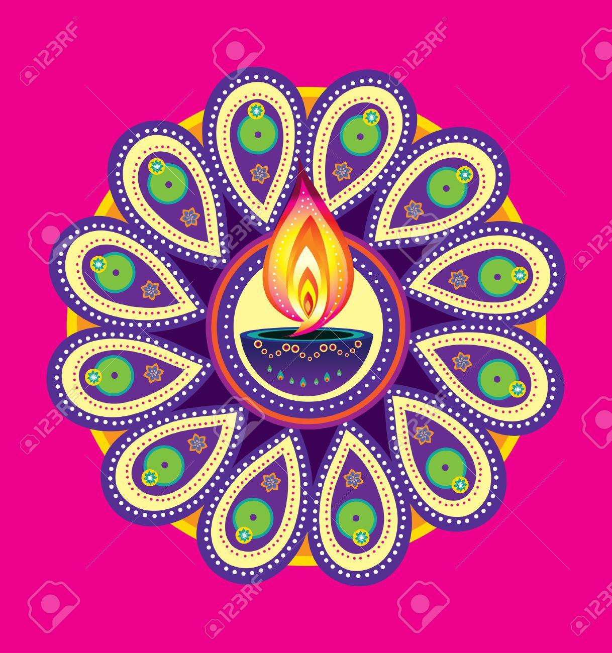 Image result for deepavali kolam (With images) Diwali