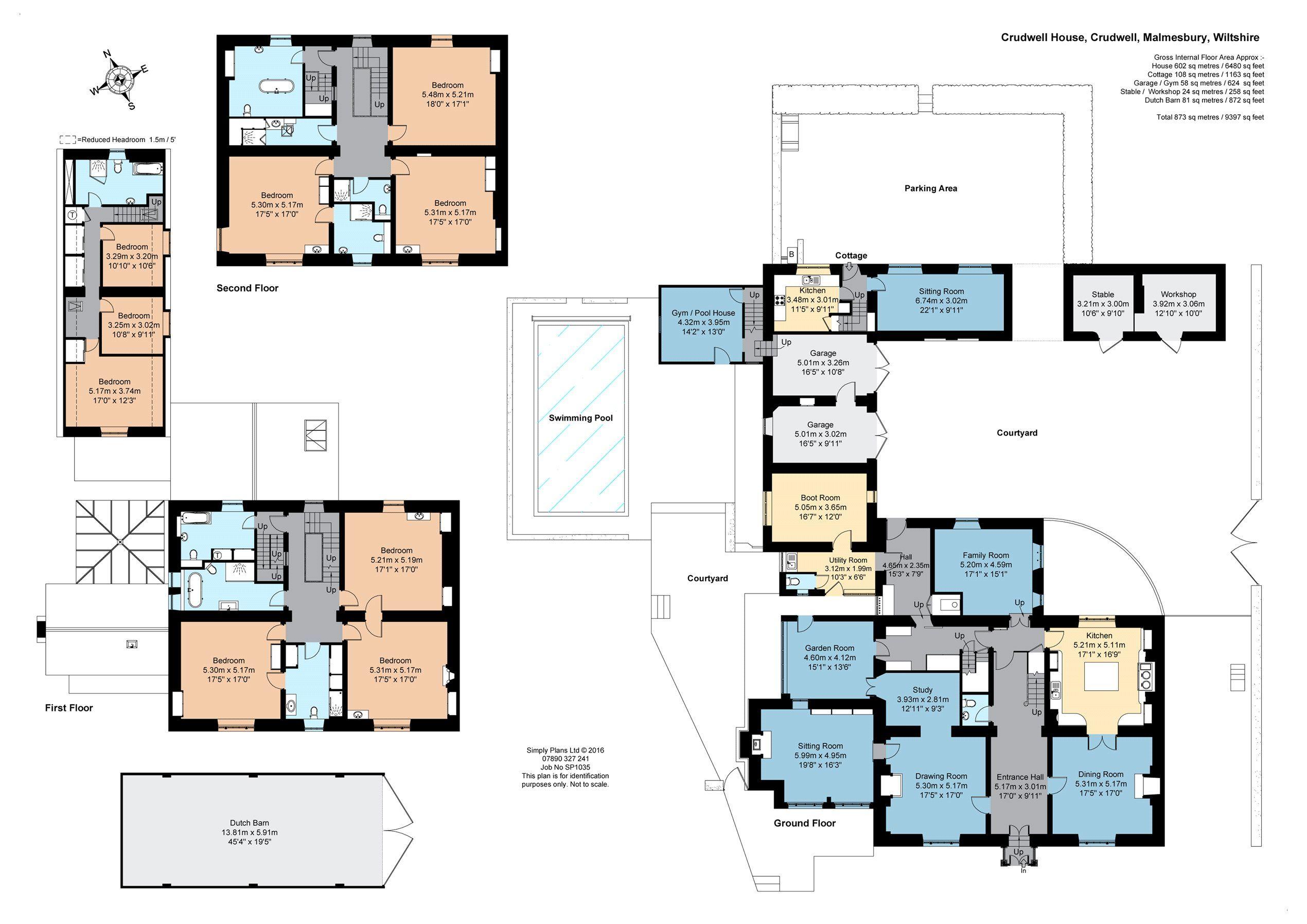 Crudwell House Plans Floor Plans Plan Design