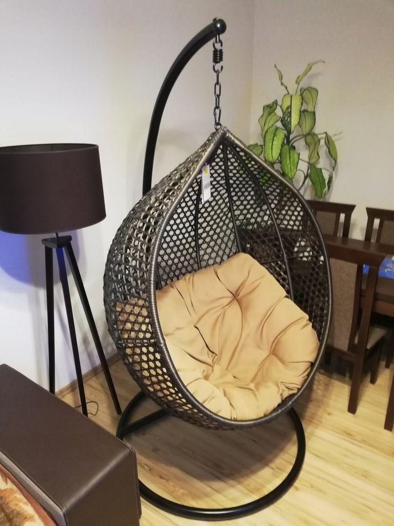 Informacje O Fotel Wiszacy Ogrodowy Hustawka Kokon Kosz Bujany 7716755928 W Archiwum Allegro Data Zakonczenia 2018 12 29 Ce Hanging Chair Home Decor Decor