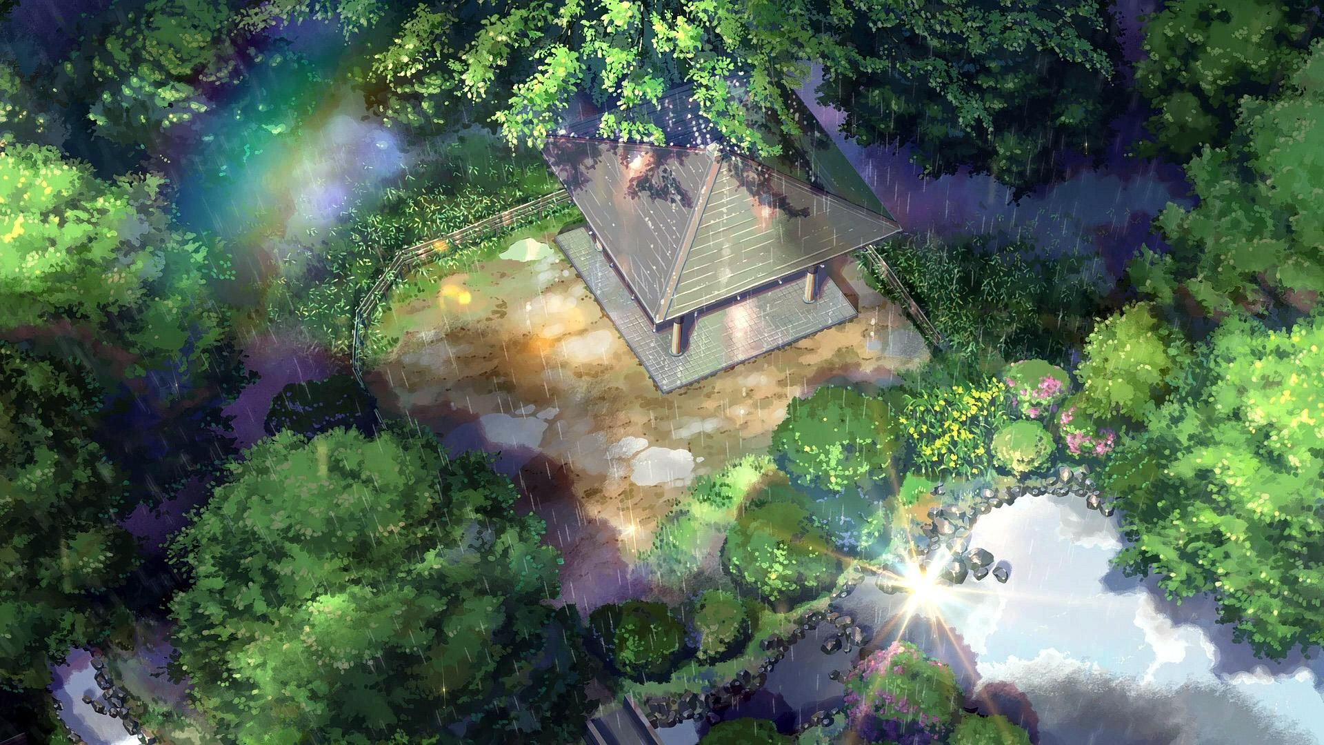 Image result for kotonoha no niwa screenshots