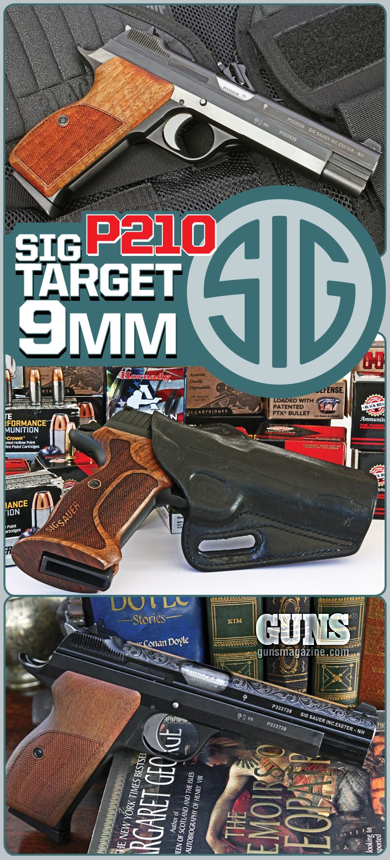 SIG P210 Target 9mm | By Mike Cumpston | Made In America