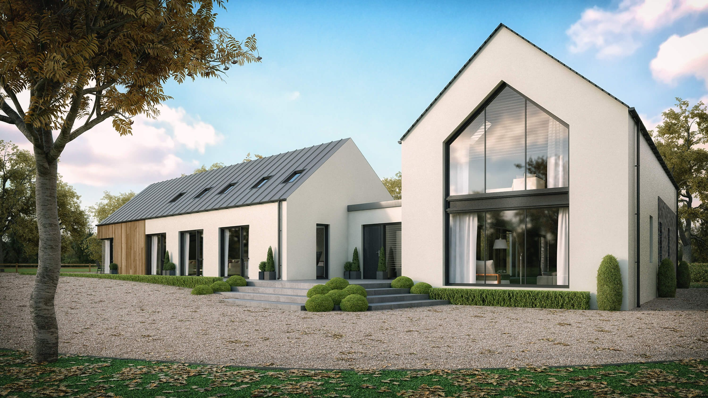 Modern House Straffan County Kildare Barn Style