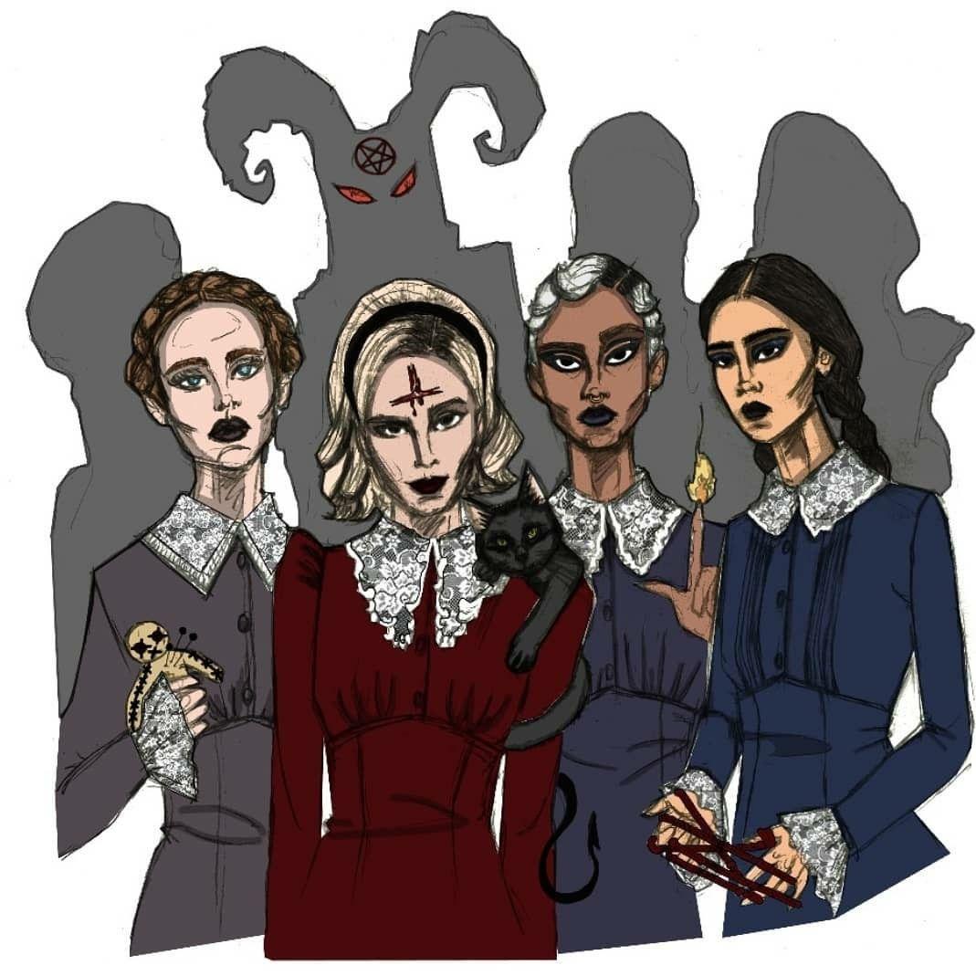Weird Sisters Fanart 8