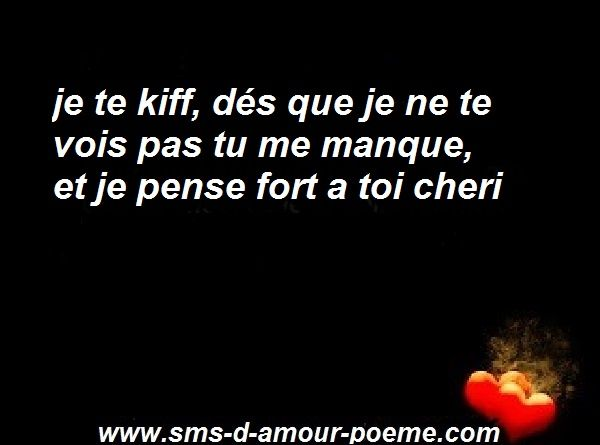 Sms Tu Me Manques Mon Amour Sms Damour Poème Damour