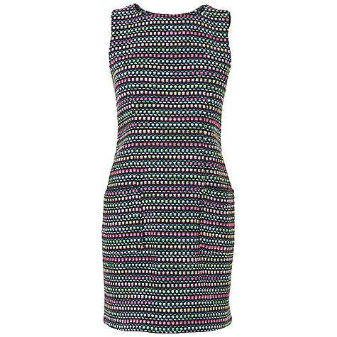 Buy Boutique by Jaeger Tweed Shift Dress, Dark Multi Online at johnlewis.com