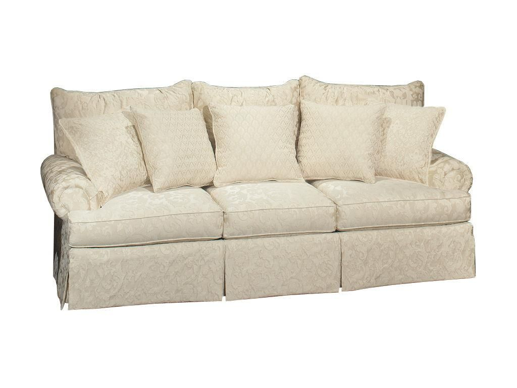Craftmaster Living Room Three Cushion Sofa 927550 - Hickory ...