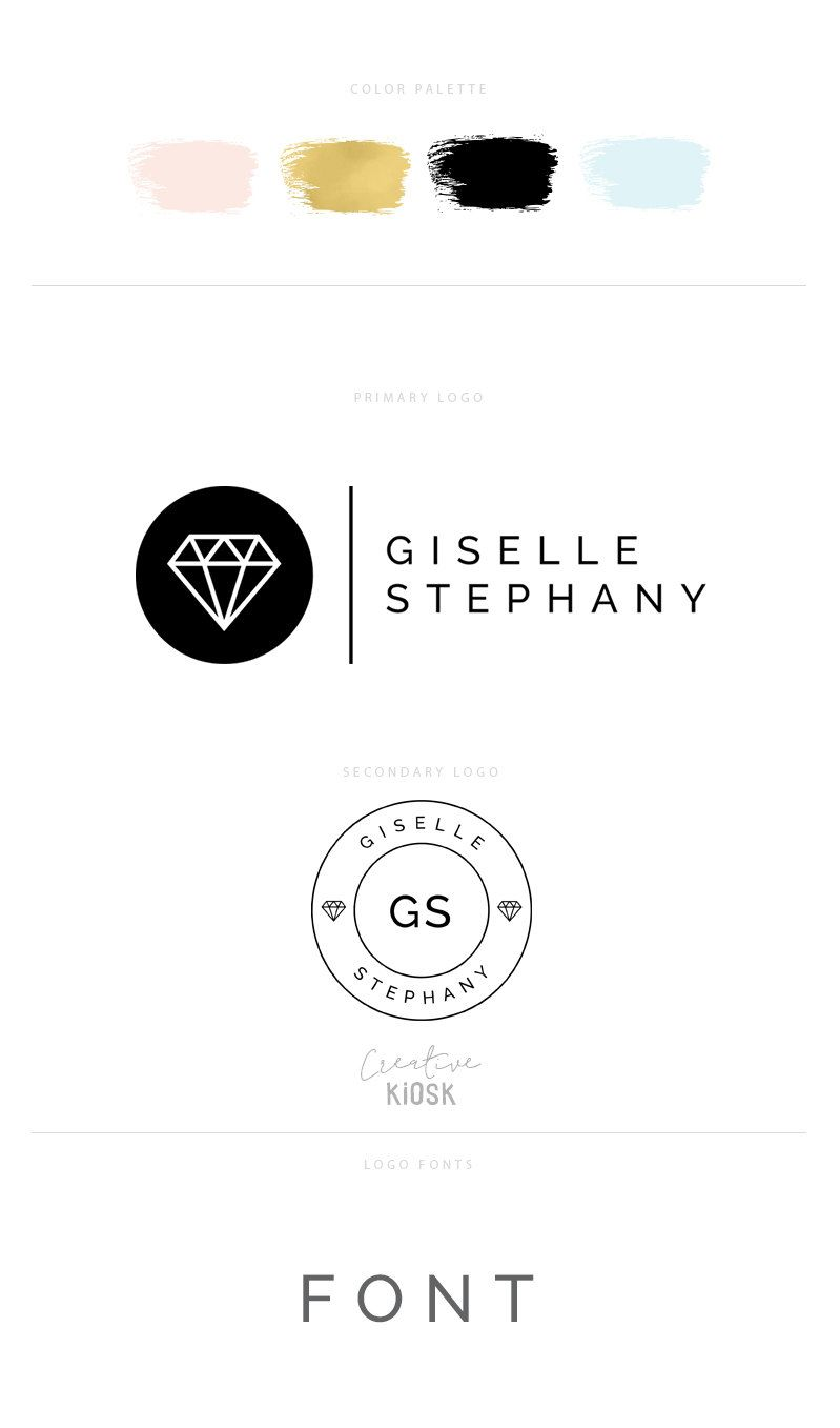 Etsy Shop Logo Set  Premade Jewelry Design Logos  Shop Banner