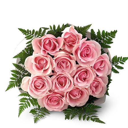 Buy All India Delivery 12 Pink Roses Bunch Online Best Prices In India Flower Delivery Flowers Bouquet Flowers