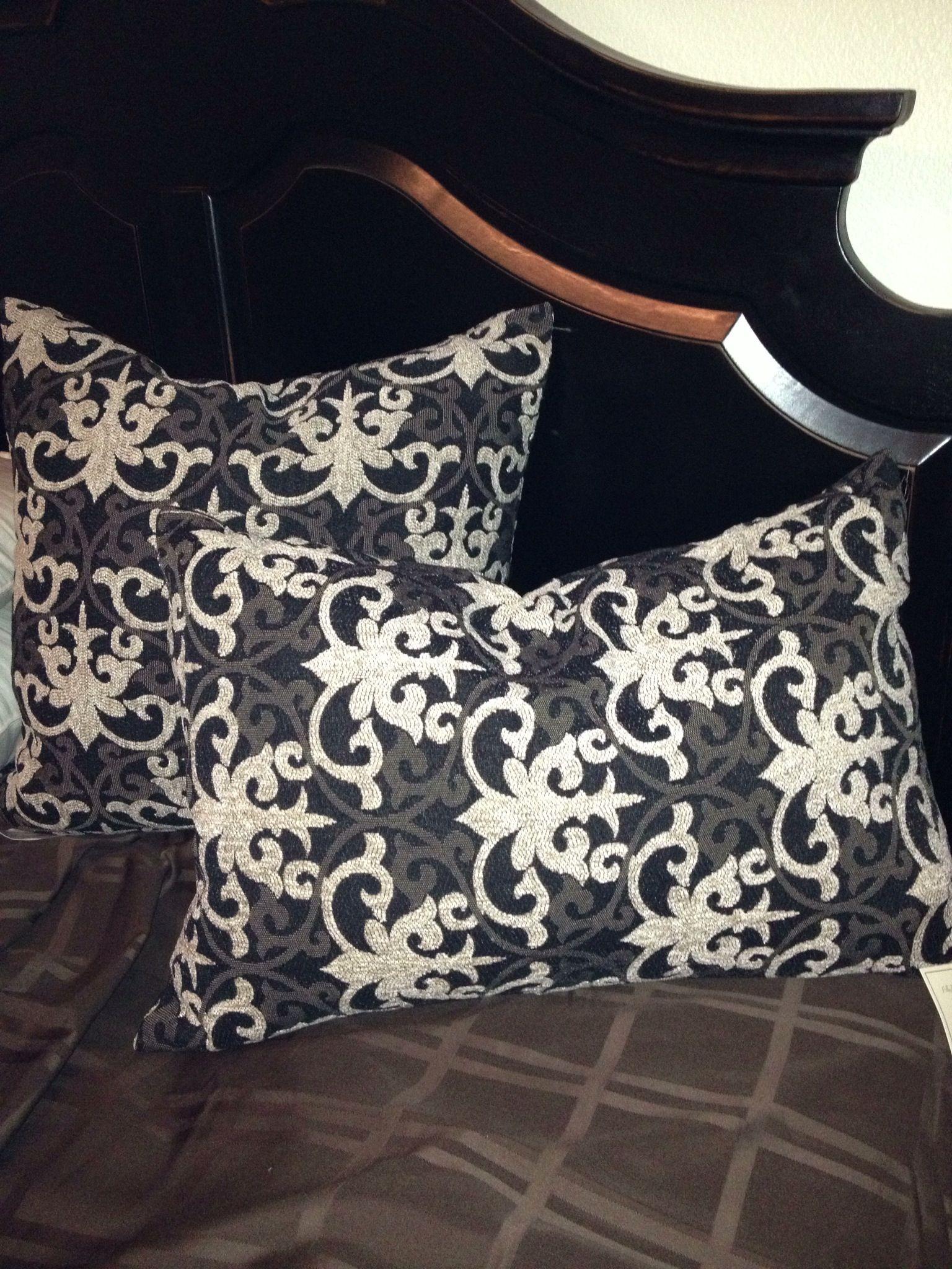 Throw pillows available at Sublime Decor