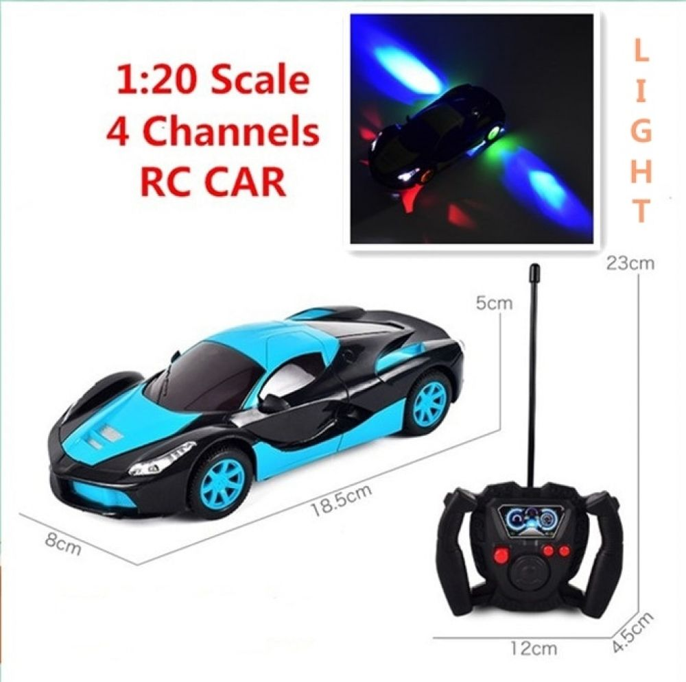 1 20 Scale Simulation Super Racing Cars With Beautiful Light Rc Speed Radio Remote Control Sports Car Gift 3 Toys For Children I Www Hotdealsgalore Com Sports Car Gift Super Sport Cars Kids Toys