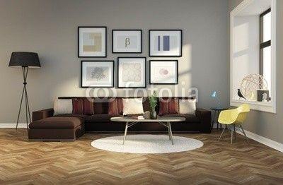 brown sofa - Google Search | Queens Corner Inspiration | Pinterest ...