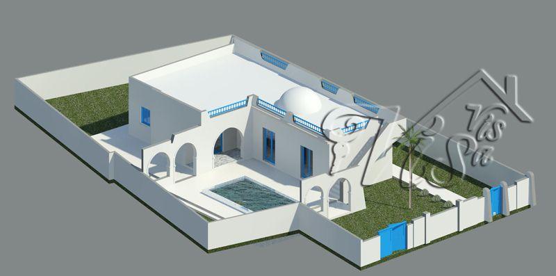 Projet construction visavis immobilier Djerba Projets à Djerba