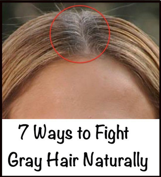 Fight Gray Hair Naturally