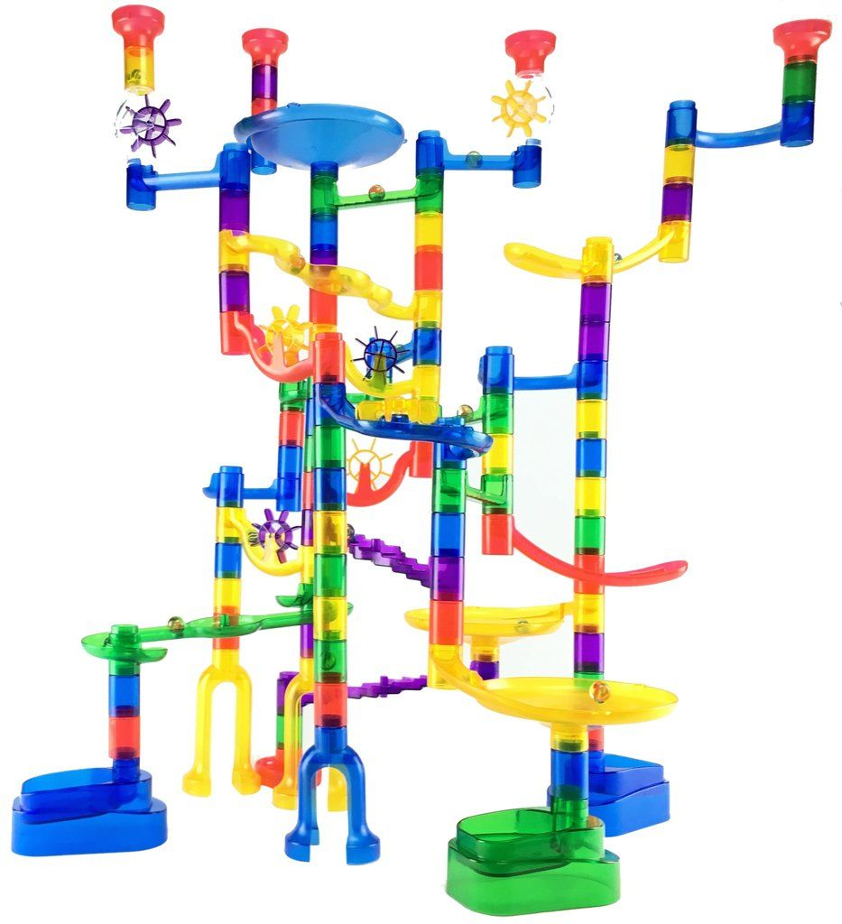 Marble Run Super Set Marble Run Toy Gift Guide Stem Toys