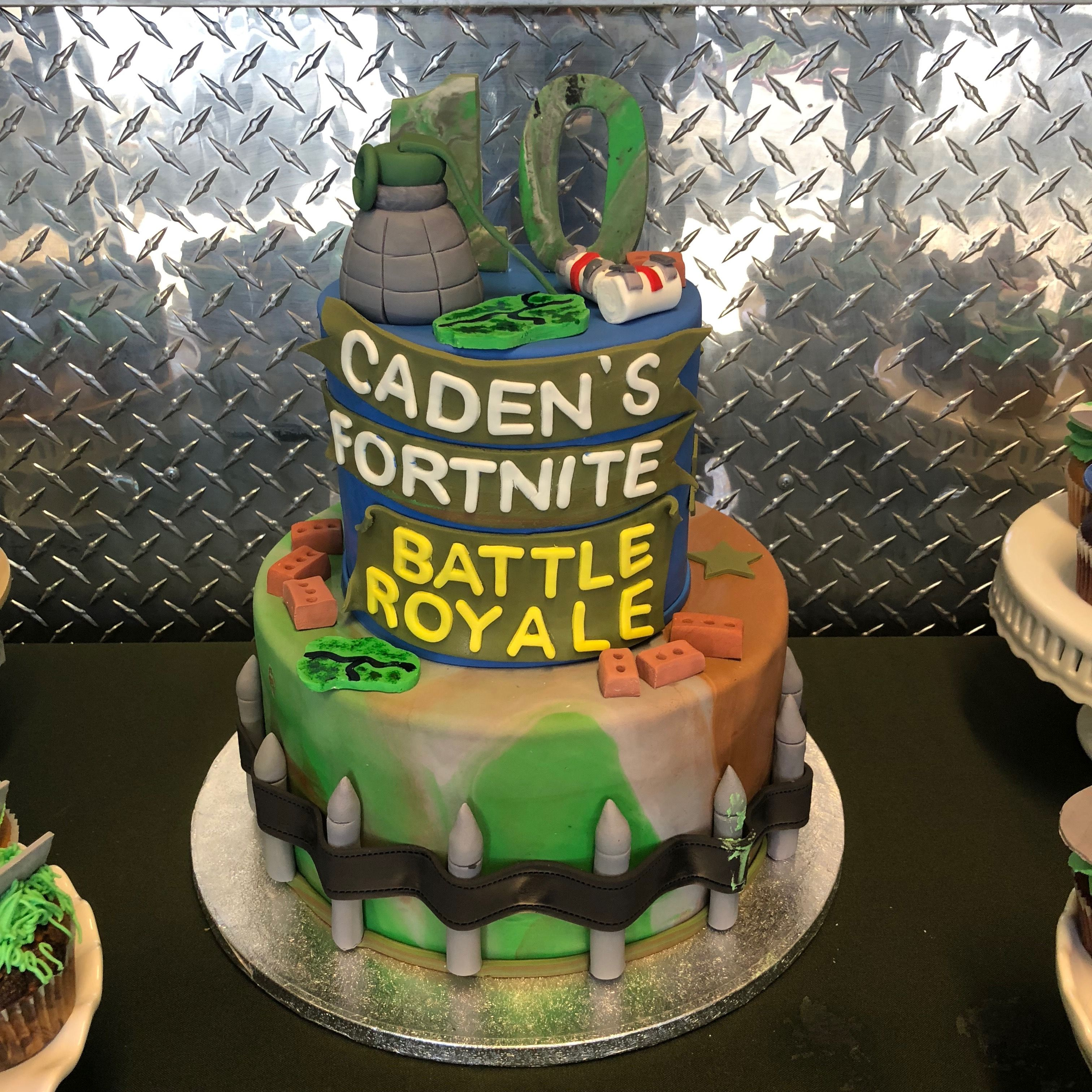 Fortnite Battle Royale Themed Birthday Party!! Royal
